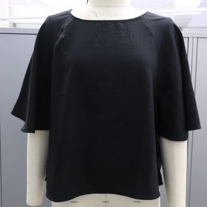 Tops - Never worn - Black kimono sleeve blouse